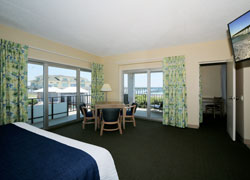 Ocean Front with Sitting at Silver Gull Motel - Accommodation Wrightsville Beach - North Carolina