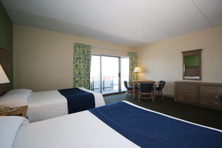 Adjoining Rooms at Silver Gull Accommodation Wrightsville Beach - North Carolina